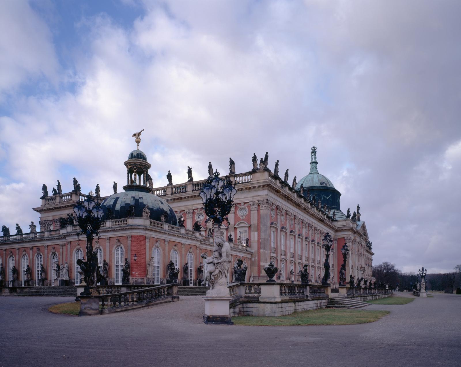 Potsdam, Park Sanssouci, Neues Palais