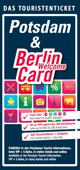 Potsdam & Berlin WelcomeCard 2016