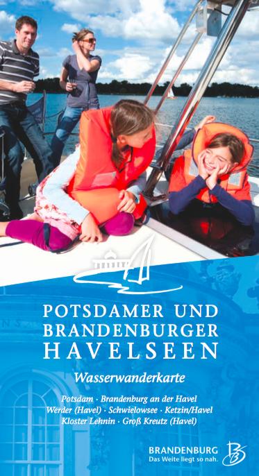 Potsdamer und Brandenburger Havelseen - Wasserwanderkarte