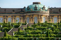 Fotograf: Seidel, Leo; Topographische Informationen: > Potsdam > Park Sanssouci > Nördliches Sanssouci > Schloss Sanssouci > Schloss Sanssouci > Außenansicht; Aufnahmedatum: 2013