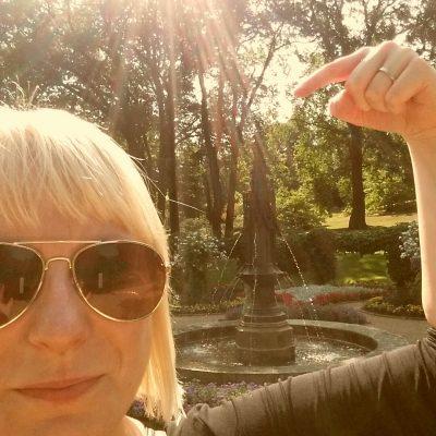 Wasserspiele im Park Babelsberg
