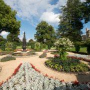 Potsdam, Park Babelsberg, Pleasureground, Gotischer Garten mit Gotischer Fontäne, Foto: Leo Seidel/SPSG