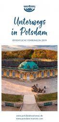 Flyer zu Stadtrundgängen in Potsdam