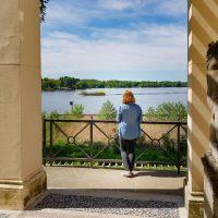 Blick vom Casino auf den Jungfernsee (c)SPSG Nannette Neitzel