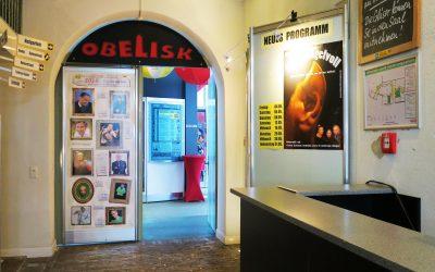 Eingangsbereich Kabarett Obelisk