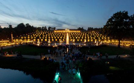 Schloss Sanssouci zur Schlössernacht in Potsdam