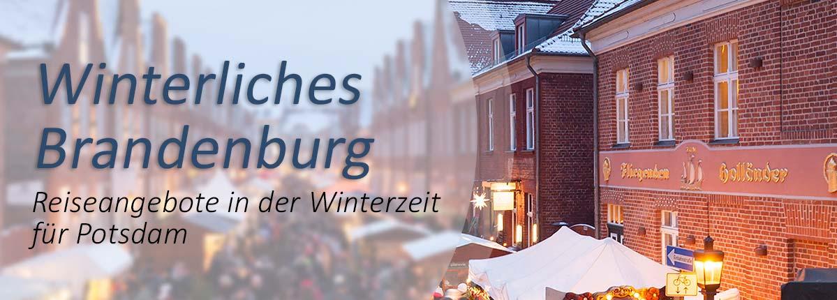 Reiseangebot Übernachten in Potsdam im Winter