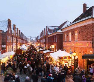 Weihnachtsmarkt im Holländischen Viertel