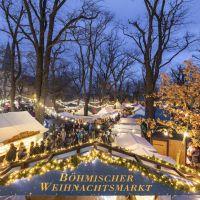 Böhmischer Weihnachtsmarkt auf dem Weberplatz in Babelsberg