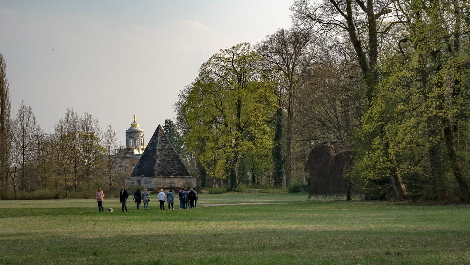 Ein Spaziergang Durch Den Neuen Garten Potsdam Marketing Und Service Gmbh