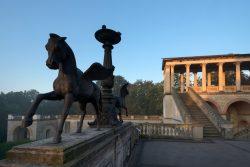 Herbstmorgen auf dem Belvedere