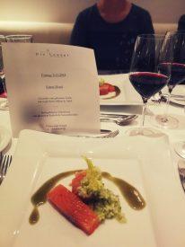 Menü bei Krimi-Dinner