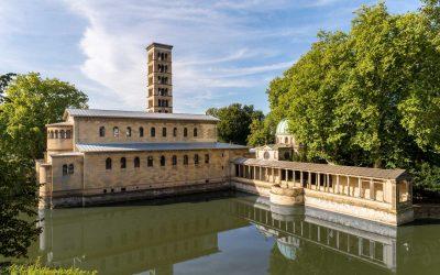 Die Friedenskirche im Park Sanssouci,