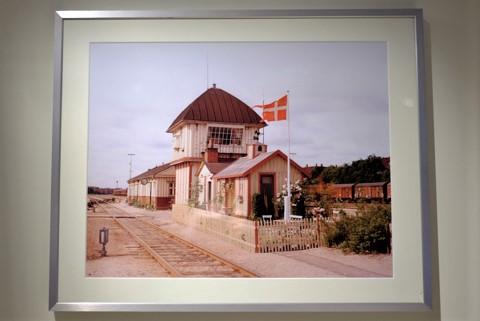 Bahnstellwerk Det Gule Palea