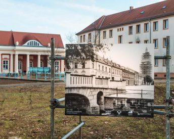 Altes Foto am Kellertor von Brücke am Stadtkanal