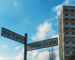 Straßenschild in Potsdam