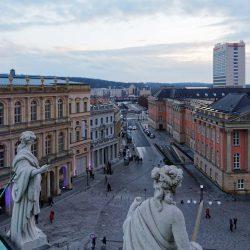 Blick auf Humboldtstraße von altem Rathaus