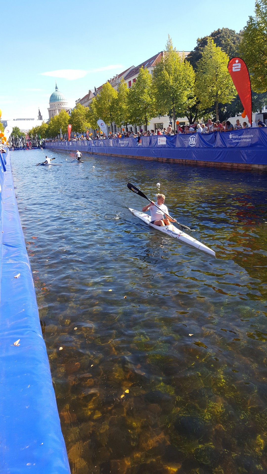 Kanalsprint in Potsdam