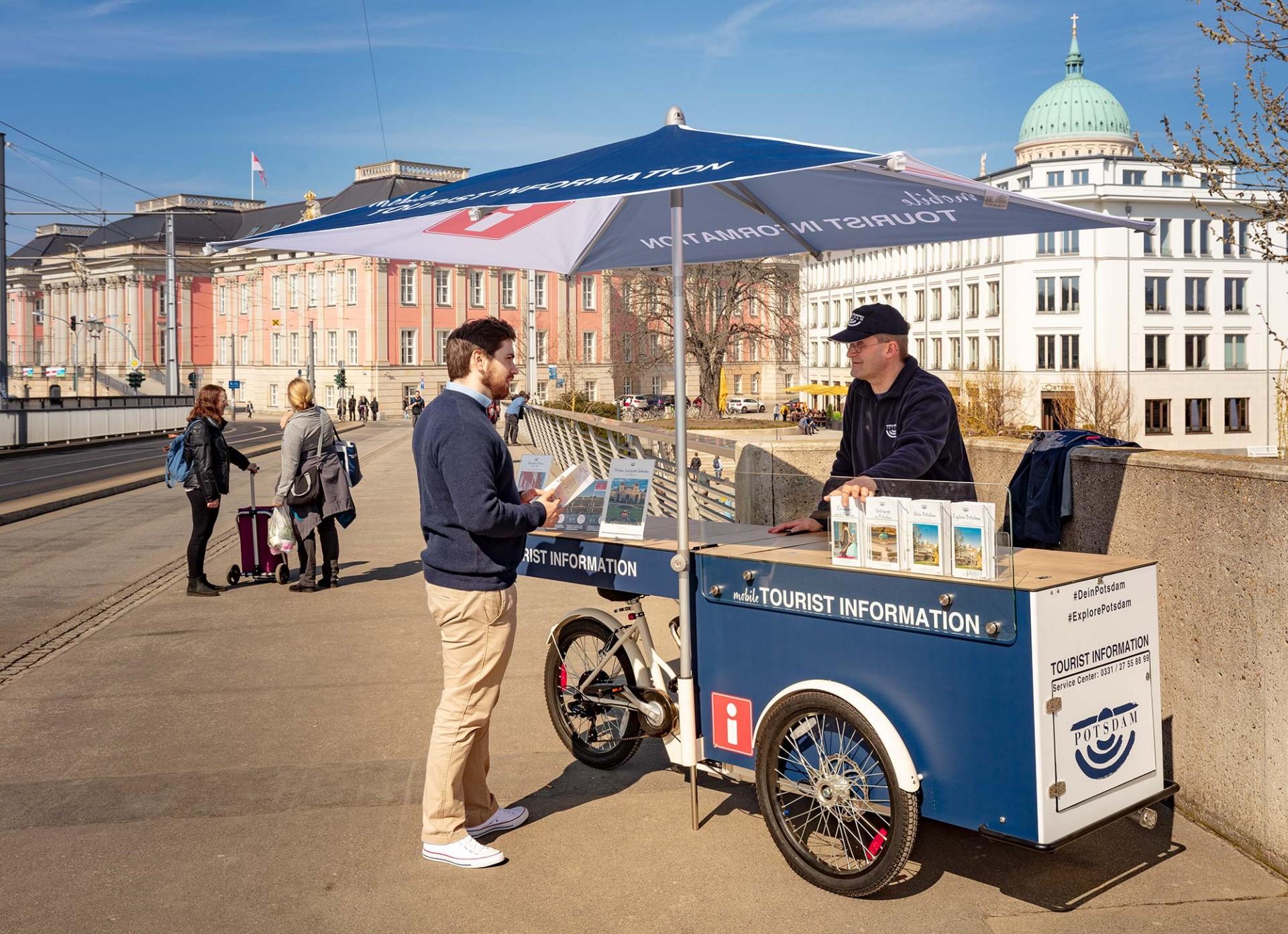Mobile Tourist Information, Foto: PMSG/ André Stiebitz