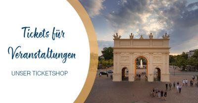 Tickets online buchen für Veranstaltungen in Potsdam