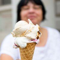 Eis essen in Potsdam
