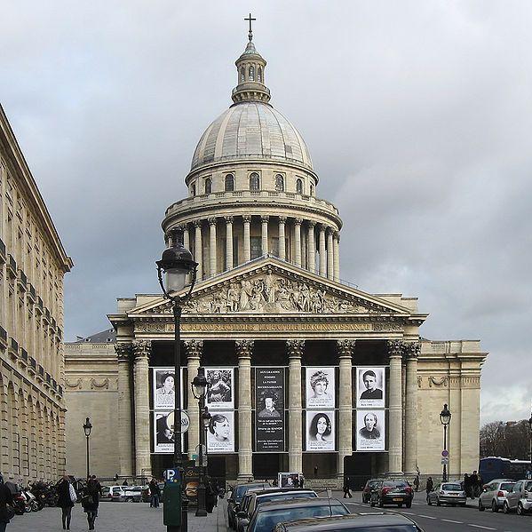 Pantheon in Paris, Foto: Manfred Heyde