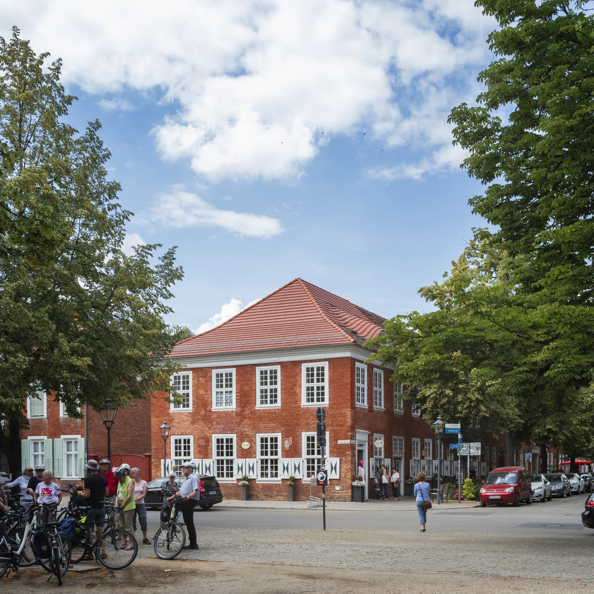 Holländisches Viertel in Potsdam, Foto: PMSG/ André Stiebitz