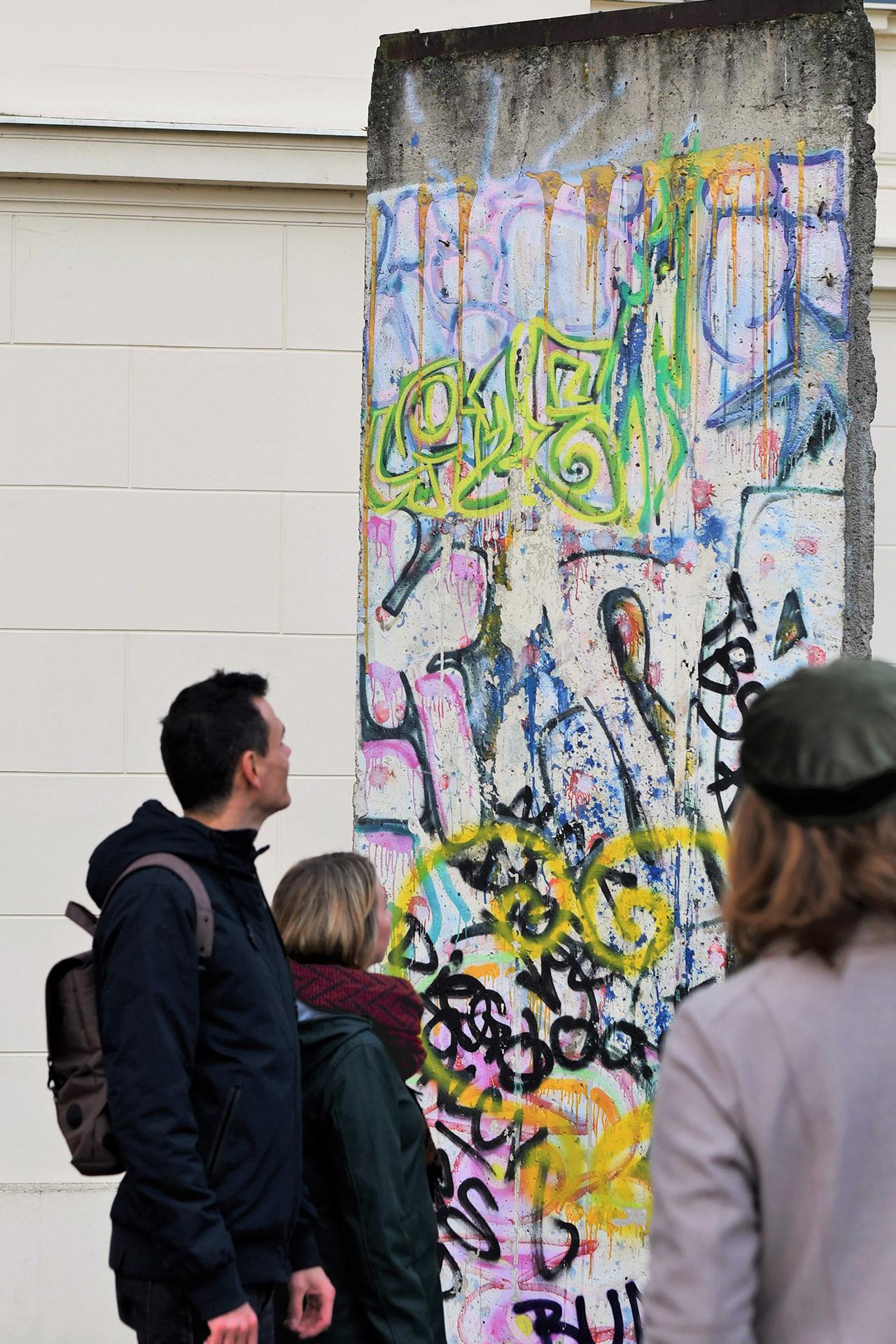 Mauerstück, Foto: PMSG/ Nadine Redlich