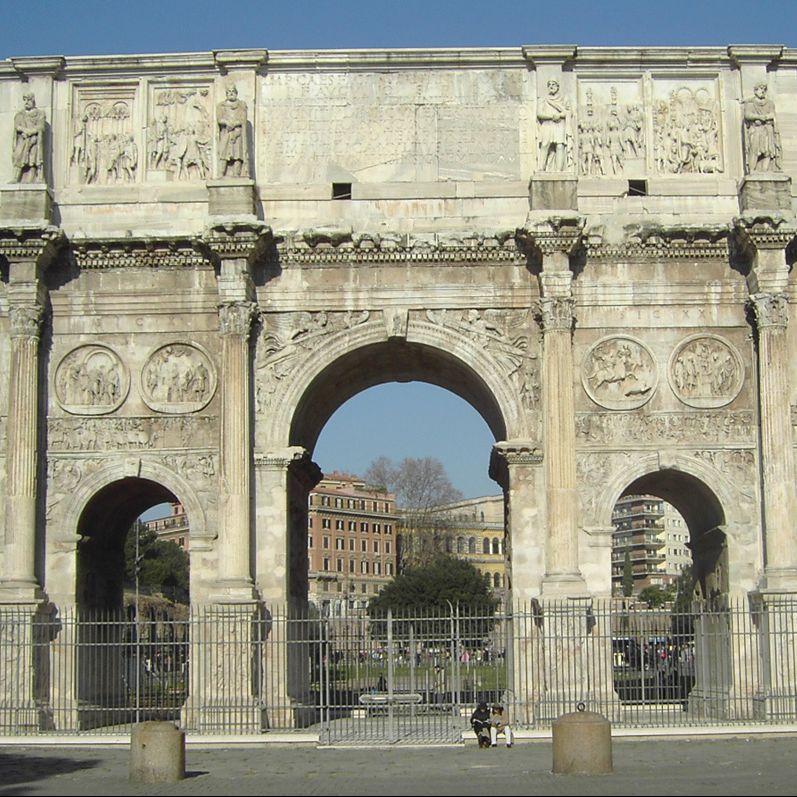 Konstantinsbogen in Rom, Foto: Alexander Z./ CC BY-SA 3.0