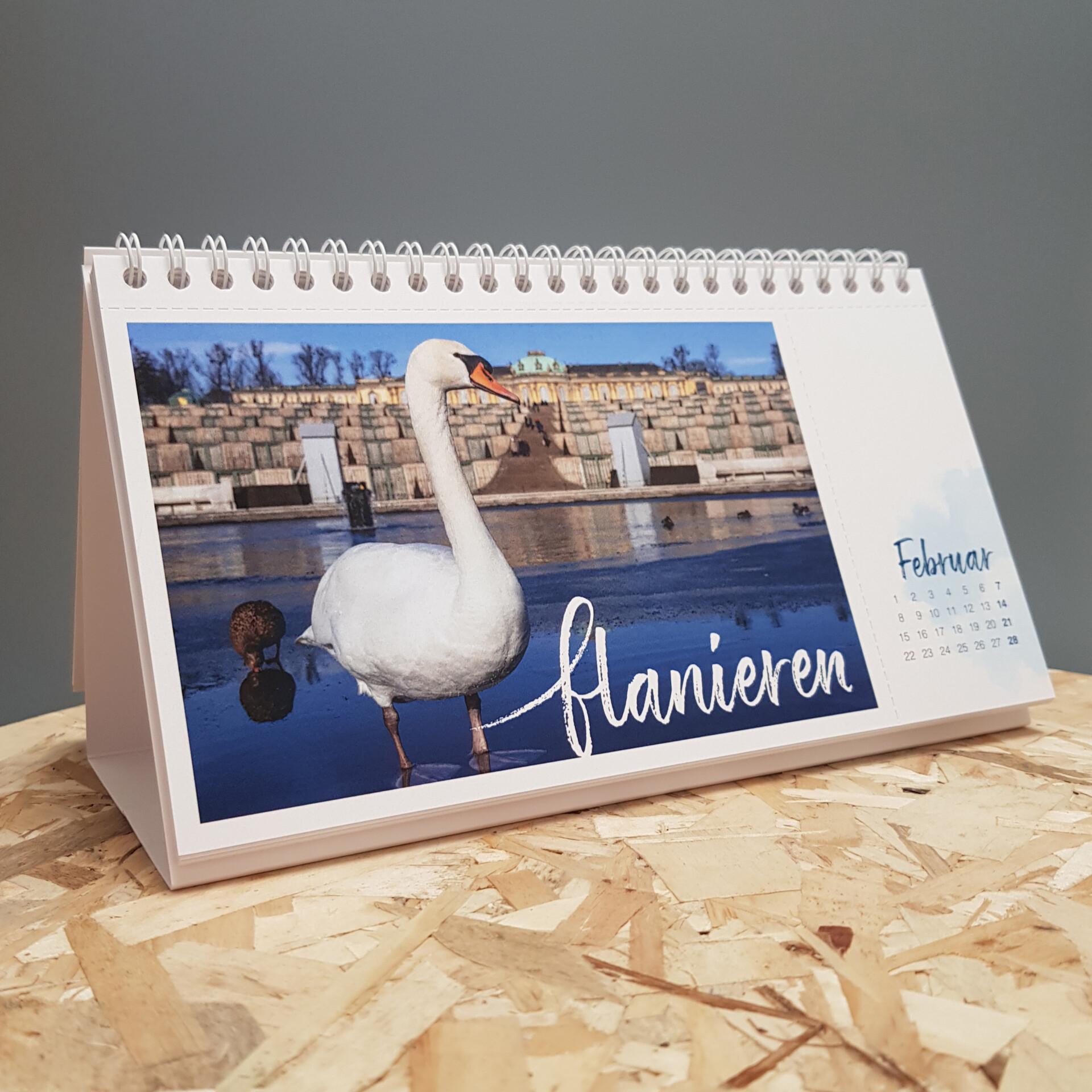 Tischkalender für 2021, Foto: PMSG/ Melanie Gey
