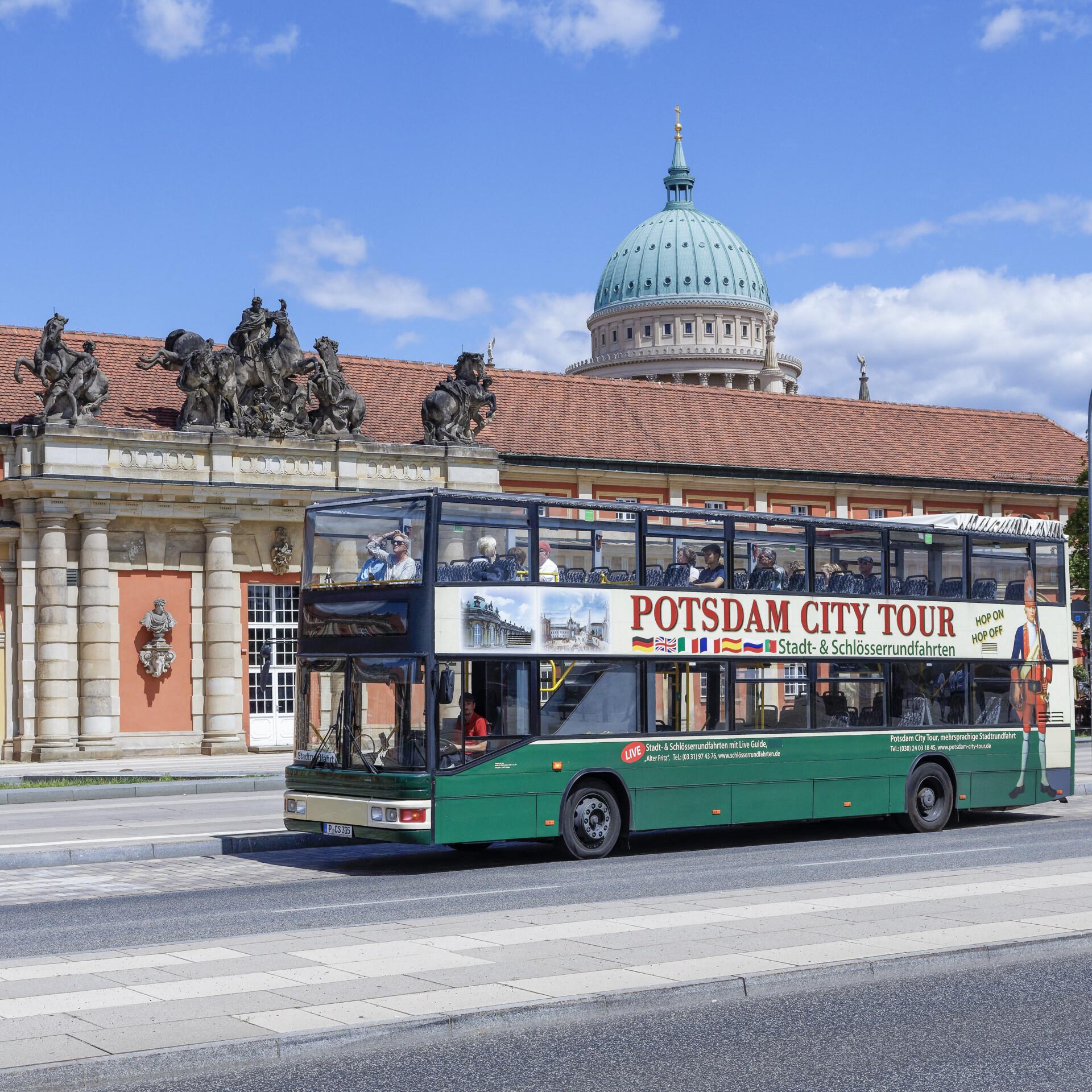 Stadtrundfahrt in Potsdam, Foto: PMSG/ André Stiebitz
