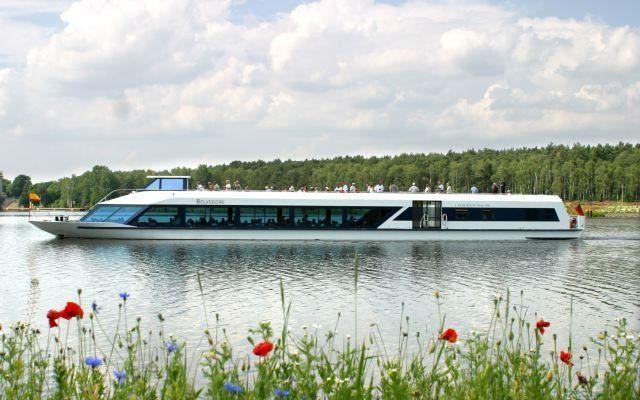 MS Belvedere auf der Havel, Foto: Weisse Flotte Potsdam GmbH