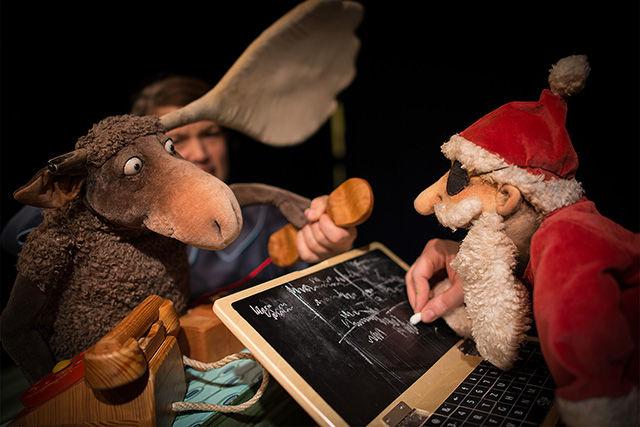 """Theater Zitadelle zeigt: """"Olaf, der Elch"""""""