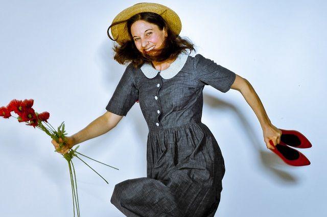 Der Zauberer von Oz ,Carolin Schär als Dorothee Foto: HL Böhme