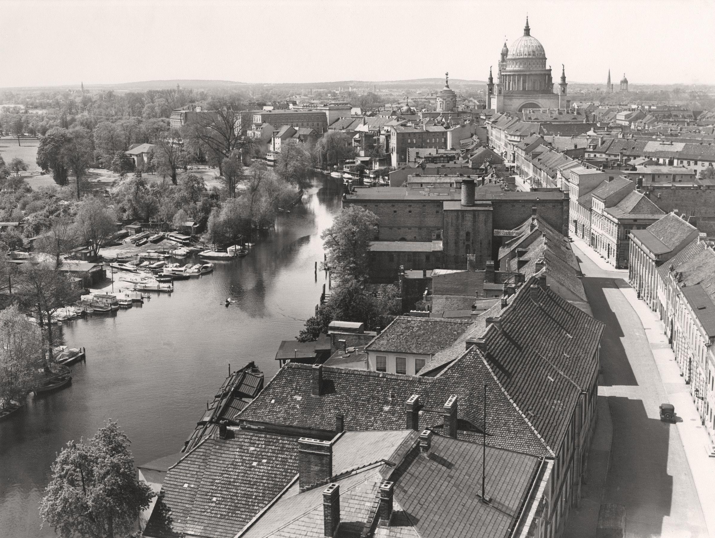 Max Bauer, Panorama von der Heiligengeistkirche(Detail), um 1936 © Lichtbild-Archiv Max Baur