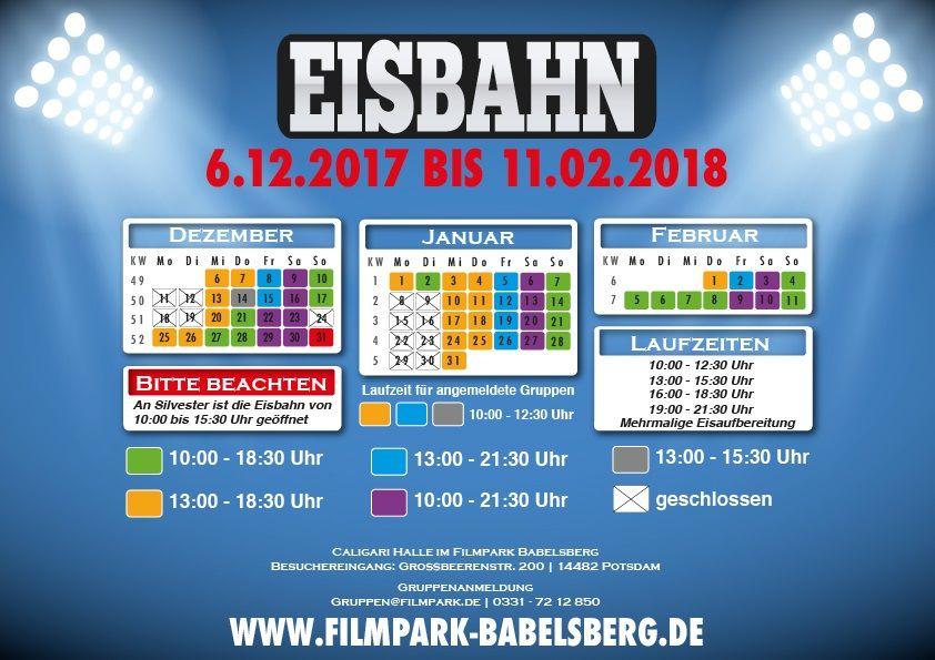 Eisbahn © Filmpark Babelsberg
