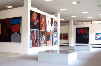 Ausstellung H. Scheuerecker, Foto: Galerie Sperl