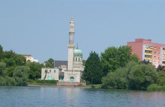 Dampfmaschinenhaus (Moschee), Foto: Yvonne Schmiele