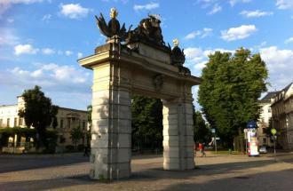 Jägertor in Potsdam, Foto: TMB/Hoffmann