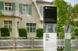 Ehemaliges Wohnhaus der Geheimdienstchefs © Gedenk- und Begegnungsstätte Leistikowstraße, Foto: Hagen Immel, Potsdam