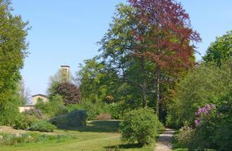 Der Marlygarten im Park Sanssouci, Foto: terra press Berlin