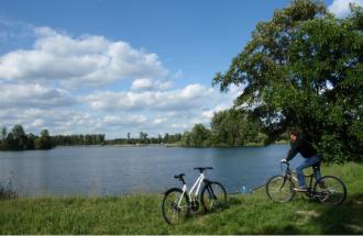 Auf der Etappe des Havelradwegs, Foto Tourismusverband Ruppiner Seenland e.V.