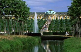 Schloss und Park Sanssouci © TMB-Fotoarchiv/ Böttcher/ SPSG