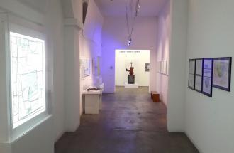 Eingangsbereich der Sammlung, museum FLUXUS+