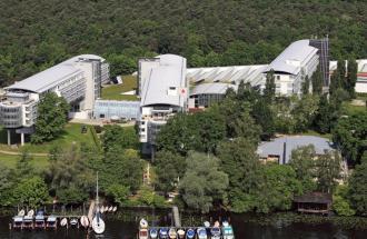 Luftbild, Foto: Kongresshotel Potsdam am Templiner See
