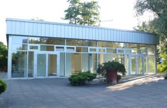 Ausstellungspavillon auf der Freundschaftsinsel © Courtesy & Foto: BKV Potsdam e.V.