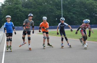 Jugendliche auf Skates, Foto: Döring/BSJ 2014