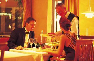 Restaurant feines Brandenburger - Seminaris SeeHotel Potsdam, Foto: Scheibe
