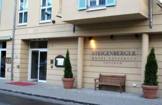 Restaurant im Steigenberger Hotel Sanssouci, Foto: Ronald Koch