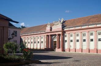 Fassade des Hauses der Brandenburgisch-Preußischen Geschichte auf dem Neuen Markt ©TMB-Fotoarchiv/Haus der Brandenburgisch-Preussischen Geschichte